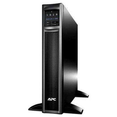 Источник бесперебойного питания APC Smart-UPS X 750VA Rack/Tower LCD 230V (SMX750I)Источники бесперебойного питания APC<br>APC Smart-UPS X 750VA/600W, Tower/RM 2U, Ext. Runtime, Line-Interactive, LCD, Out: 220-240V 8xC13 (1-gr. switched) , SmartSlot, USB, COM, EPO, HS User Replaceable Bat, Black, 3(2) y.war.<br>