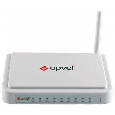 ADSL2 роутер Upvel UR-314AN (UR-314AN) точка доступа adsl upvel ur 203awp 3xlan ip tv
