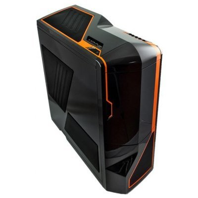 Корпус NZXT Phantom black orange (NZXT PHANT BO) корпус nzxt phantom black