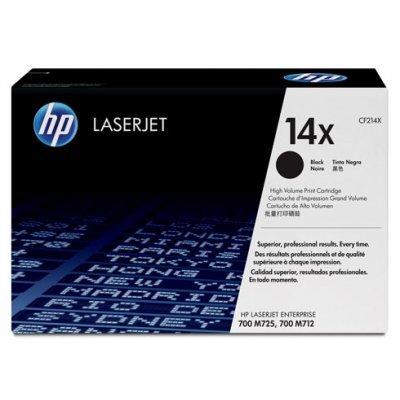 Картридж HP (CF214X) 14A для LJ 700 MFP M712, черный (CF214X)Тонер-картриджи для лазерных аппаратов HP<br><br>