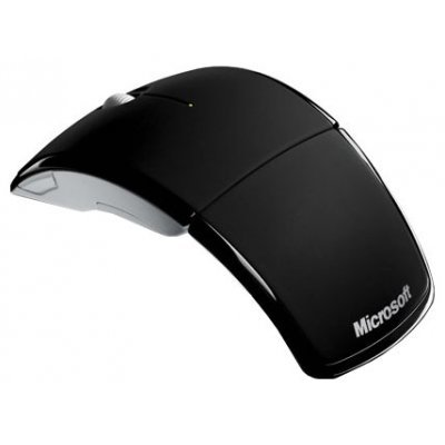 Мышь Microsoft ARC black (ZJA-00065) (ZJA-00065)Мыши Microsoft<br>Microsoft Wireless ARC, Mac/Win, Black, new<br>