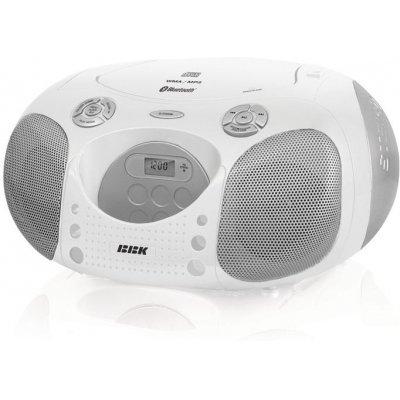 Аудиомагнитола BBK BX110BT белый (BX110BT белый)Аудиомагнитолы BBK<br>BX110BT белый<br>