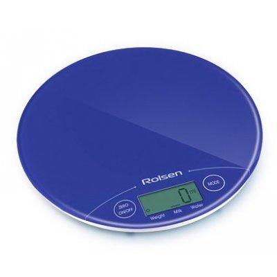 Кухонные весы Rolsen KS2906 синий (KS2906 BLUE)