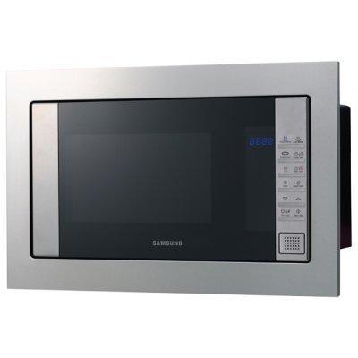 Микроволновая печь Samsung FG77SSTR (FG77SSTR/BWT)Микроволновые печи Samsung<br>объем 20 л, встраиваемая, мощность 800 Вт, гриль, электронное управление, сенсорная панель, дисплей<br>