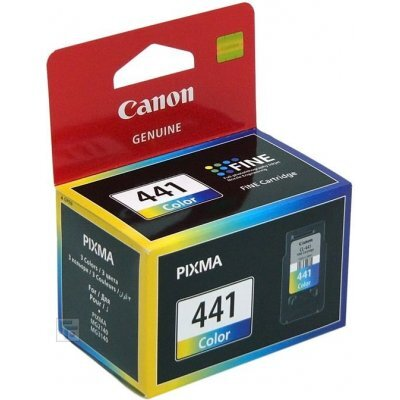 все цены на Картридж CANON CL-441 цветной (5221B001) онлайн