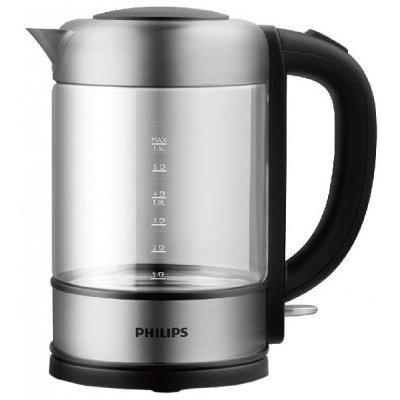 Электрический чайник Philips HD9342 (HD9342)Электрические чайники Philips<br>чайник, объем 1.5 л, мощность 2200 Вт, закрытая спираль, установка на подставку в любом положении, корпус из стали и стекла, индикация включения<br>