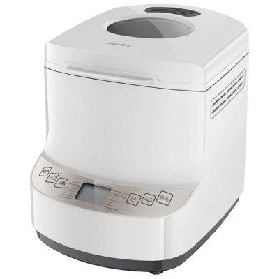 Хлебопечь Philips 9045/30 (HD9045/30)Хлебопечи Philips<br>вес выпечки 1000 г, вес выпечки регулируется, выпечка в форме буханки, выбор цвета корочки, 14 автоматических программ, быстрая выпечка, варка джема<br>