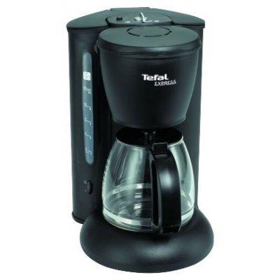 Кофеварка Tefall CM 4105 (CM4105)Кофеварки Tefal<br>капельная, для молотого кофе, контроль крепости кофе, постоянный/одноразовый фильтр, корпус из пластика<br>