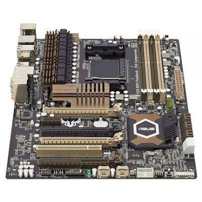 Материнская плата ASUS SABERTOOTH 990FX R2.0 Socket AM3 (90-MIBJA0-G0EAY0VZ)Материнские платы ПК ASUS<br>Socket AM3, AM3+ 140W, AMD 990FX, 4 DDR3, PCI-Ex16, PCI-Ex1, PCI, 8-ch Audio, S/PDIF Out, USB 2.0 + USB 3.0, E-SATA, IEEE1394, COM port, Gbit LAN, SATA III+SATAII+RAID )A<br>