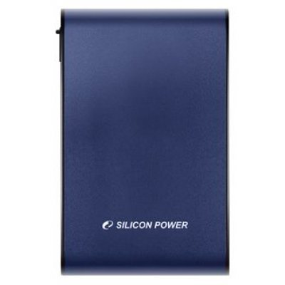 Внешний жесткий диск Silicon Power 1Tb SP010TbPHDA80S3B 2.5 USB 3.0 голубой (SP010TBPHDA80S3B)Внешние жесткие диски Silicon Power<br><br>