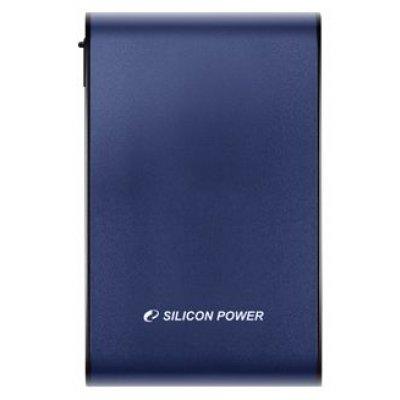 Внешний жесткий диск Silicon Power 500Gb SP500GbPHDA80S3B 2.5 USB 3.0 голубой (SP500GBPHDA80S3B)Внешние жесткие диски Silicon Power<br>внешний жесткий диск<br>объем 500 Гб<br>1 HDD 2.5 внутри<br>интерфейс USB 3.0<br>вес 270 г<br>