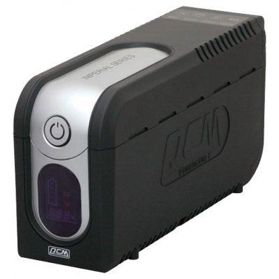 Источник бесперебойного питания Powercom Imperial IMD-625AP Display (507308) ибп powercom imd 825ap imperial 825va 495w display usb avr rj11 rj45 3 2 iec
