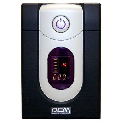 Источник бесперебойного питания Powercom Imperial IMD-1500AP Display (507312)Источники бесперебойного питания Powercom<br>1500VA/900W Display,USB,AVR,RJ11,RJ45<br>