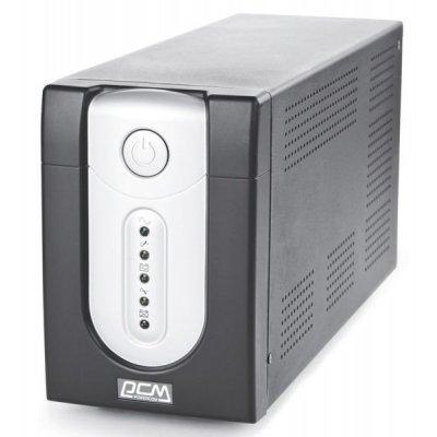 Источник бесперебойного питания Powercom Imperial IMP-1500AP (671479)Источники бесперебойного питания Powercom<br>1500VA/900W USB,AVR,RJ11,RJ45<br>