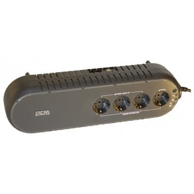 Источник бесперебойного питания Powercom WOW-850U (WOW-850U)Источники бесперебойного питания Powercom<br>850VA/425W USB,(3+1 EURO output)<br>