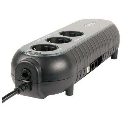 Источник бесперебойного питания Powercom WOW-500U (37370)Источники бесперебойного питания Powercom<br>500VA/250W USB,(2+1 EURO output)<br>