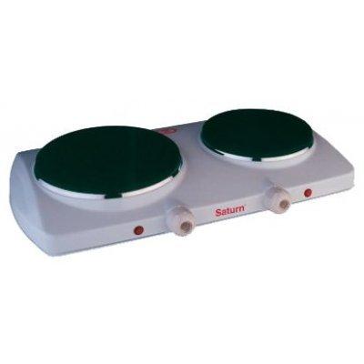 Электрическая плитка Saturn ST-EC1160 (ST-EC1160)Электрические плиты Saturn <br>электрические конфорки, духовка отсутствует, эмалированная панель, механическое управление<br>