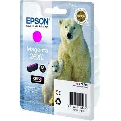 Картридж (C13T26334010) EPSON для XP600/7/8_XL пурпурный (C13T26334010)Картриджи для струйных аппаратов Epson<br>для XP600/7/8<br>