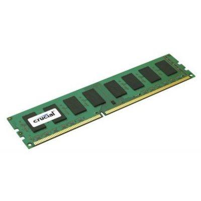 Модуль памяти Crucial 4GB DDR3 (pc-12800) 1600MHz (CT51264BD160B) (CT51264BD160B)Модули оперативной памяти ПК Crucial<br>Retail<br>