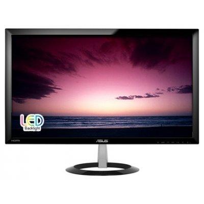 Монитор 23 Asus VX238H (90LMGB001R010O1C-)Мониторы ASUS<br>ASUS 23 Wide LED monitor, 16:9, Full HD 1920 x 1080, 1ms, 250 cd/m2 ,80 M:1,170°(H),160°(V), HDMI 1.3 with audio ,AV Audio Input (HDMI), Built-in Power Supply,  black,Kensington Lock ,Energy Star&amp;#174;<br>