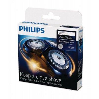 Бритвенная головка Philips RQ11/50 (RQ11/50)Бритвенные головки Philips<br>Короб из 12 упаковок (в упаковке 3 блока) для 3-х головочных бритв, SensoTouch серии 11 (RQ 1150, 1160, 1180)<br>