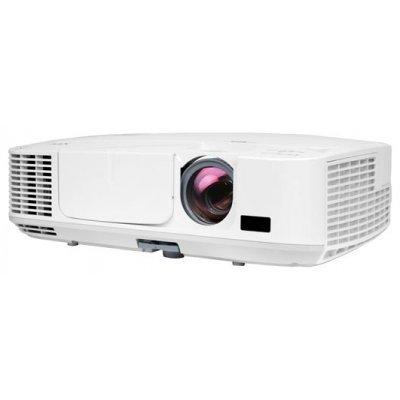 Проектор NEC M311W (M311W)Проекторы NEC<br>LCD, 1280 x 800 WXGA, 3100lm, 3000:1, 3kg, HDMI, VGA x2, S-Video, RJ45, bag, Lamp:4000hrs<br>