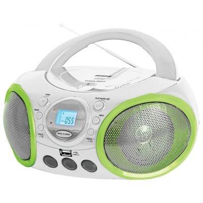 Аудиомагнитола BBK BX100U белая с зеленым (BX100U белая с зеленым)Аудиомагнитолы BBK<br><br>