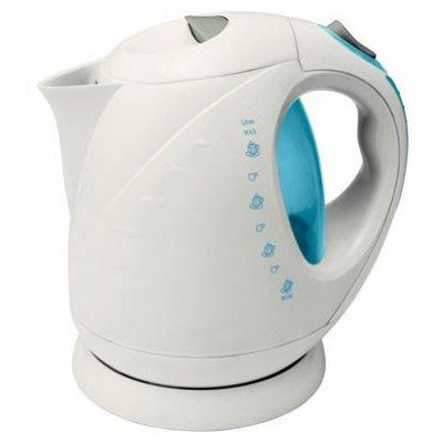 Электрический чайник VES 1008 (VES1008)Электрические чайники Ves <br>Белый, нагревательный элемент: закрытая спираль, 2000 Вт, объем: 2 л<br>