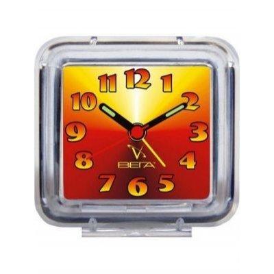 Будильник Вега Б 1-012 (Б 1-012)Будильники Вега <br>Красно-Желтый<br>