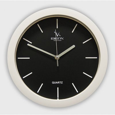 Часы настенные Вега П 1-7/7-23 (П 1-7/7-23)Часы настенные Вега <br>РИСКИ Белый кант<br>