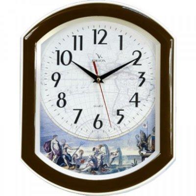 Часы настенные Вега П 2-9/7-12 (П 2-9/7-12)Часы настенные Вега <br>Мифы Южной Америки под старину<br>