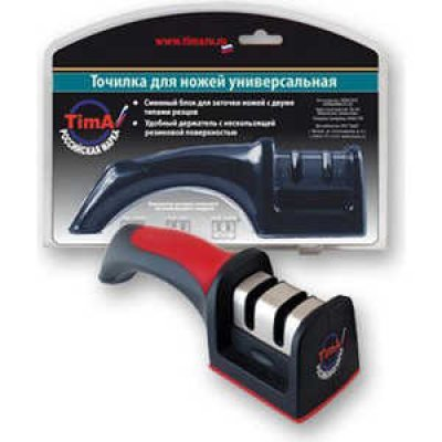 Ножеточка TimA TMK 001 (TMK 001)Точилки для ножей TimA <br>металл-керамика, красная.ручка<br>
