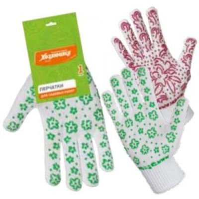 Перчатки хозяйственные Хозяюшка Мила 17029 (Мила 17029)