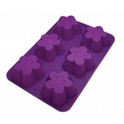 Форма для выпечки Marmiton 16112 (MAN16112)Формы для запекания Marmiton<br>Цветочки, 6 ячеек<br>