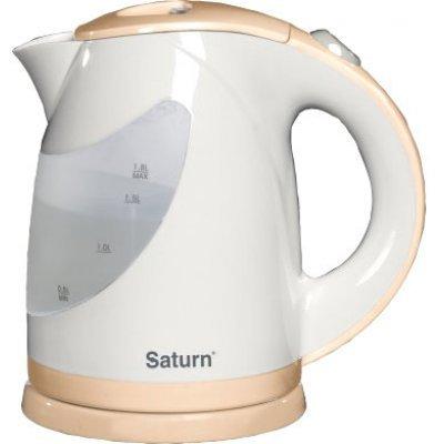 Электрический чайник Saturn ST-EK 0004 Cream (ST-EK 0004 Cream)Электрические чайники Saturn <br>чайник, объем 1.8 л, мощность 2000 Вт, закрытая спираль, установка на подставку в любом положении, пластиковый корпус, индикация включения<br>