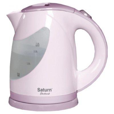 Электрический чайник Saturn ST-EK 0004 Light Violet (ST-EK 0004 Light Vio)Электрические чайники Saturn <br>чайник, объем 1.8 л, мощность 2000 Вт, закрытая спираль, установка на подставку в любом положении, пластиковый корпус, индикация включения<br>