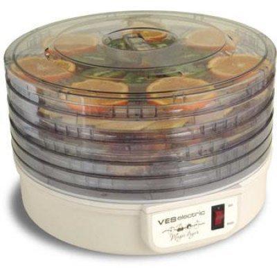 Сушилка для овощей Ves VMD-1 (VMD 1)Сушилки для овощей и фруктов Ves <br>Мощность 300 Вт, Секций - 5,  Механическое управление<br>