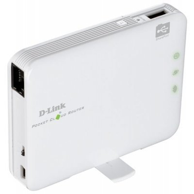 Wi-Fi роутер D-Link DIR-506L (DIR-506L/A2A)Wi-Fi роутеры D-Link<br>Pocket Cloud Router<br>