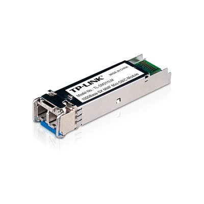 Трансивер SFP TP-Link TL-SM311LM (TL-SM311LM)Трансиверы TP-link<br>Gigabit SFP module, Multi-mode, MiniGBIC, LC interface, Up to 550/275m distance<br>