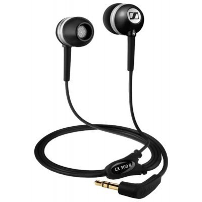 Наушники Sennheiser CX 300-II черный (CX 300-II Precision BLACK) наушники sennheiser cx 300 ii precision black 502737