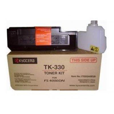 Тонер-картридж Kyocera TK-330 Black для FS-4000DN (1T02GA0EU0)Тонер-картриджи для лазерных аппаратов Kyocera<br>TK-330 20 000 стр. Black для FS-4000DN<br>