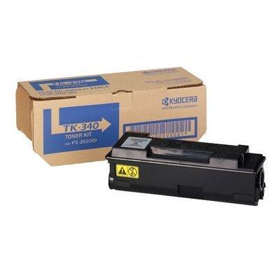 Тонер-картридж Kyocera TK-340 Black для FS-2020D/DN (1T02J00EU0)Тонер-картриджи для лазерных аппаратов Kyocera<br>TK-340 12 000 стр. Black для FS-2020D/DN<br>