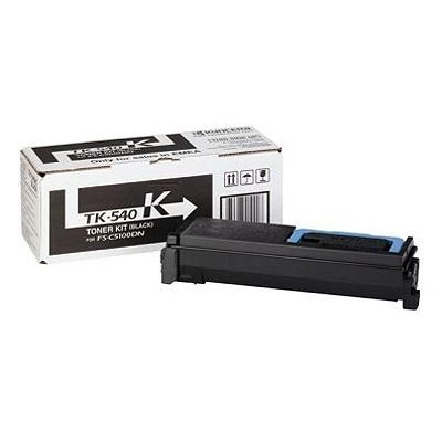 Тонер-картридж Kyocera TK-540K Black для FS-C5100DN (1T02HL0EU0) fs 2020dn tk340 eu 12k bk toner chip suitable for kyocera