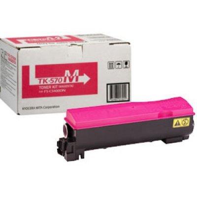 Тонер-картридж Kyocera TK-570M Magenta для FS-C5400DN (1T02HGBEU0)Тонер-картриджи для лазерных аппаратов Kyocera<br>TK-570M 12 000 стр. Magenta для FS-C5400DN<br>