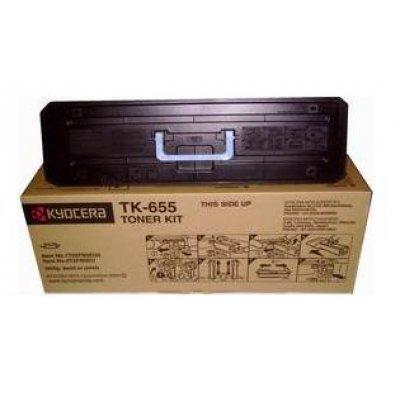 Тонер-картридж Kyocera TK-655 для KM-6030/8030 (1T02FB0EU0)Тонер-картриджи для лазерных аппаратов Kyocera<br>TK-655 47 000 стр. для KM-6030/8030<br>