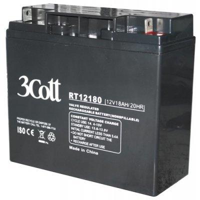 Аккумуляторная батарея для ИБП 3Cott 12V18Ah (3Cott 12V18Ah)
