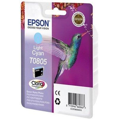 Картридж (C13T08054011) Epson T0805 светло-голубой для P50/PX660 (C13T08054011)
