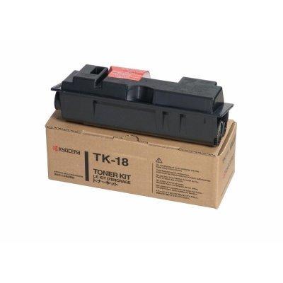 Тонер-картридж Kyocera TK-18H Black для FS-1018MFP/1118MFP/1020D (1T02FM0EU0) fs 2020dn tk340 eu 12k bk toner chip suitable for kyocera