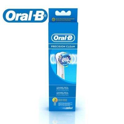 Набор насадок Oral-B  PrecClean EB 20-2 (Oral-B PrC (EB 17-2))Насадки для зубной щетки Braun<br><br>