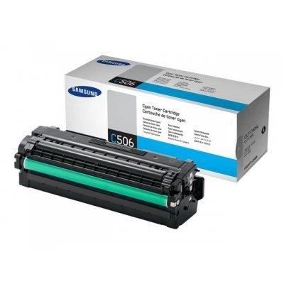 Тонер-Картридж голубой Samsung CLT-C506L для CLP-680/CLX-6260 (3500 стр) (CLT-C506L/SEE) тонер картридж samsung clt y506l для clp 680 clx 6260 желтый 3500стр